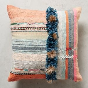 Anthropologie Tufted Yoursa Pillow